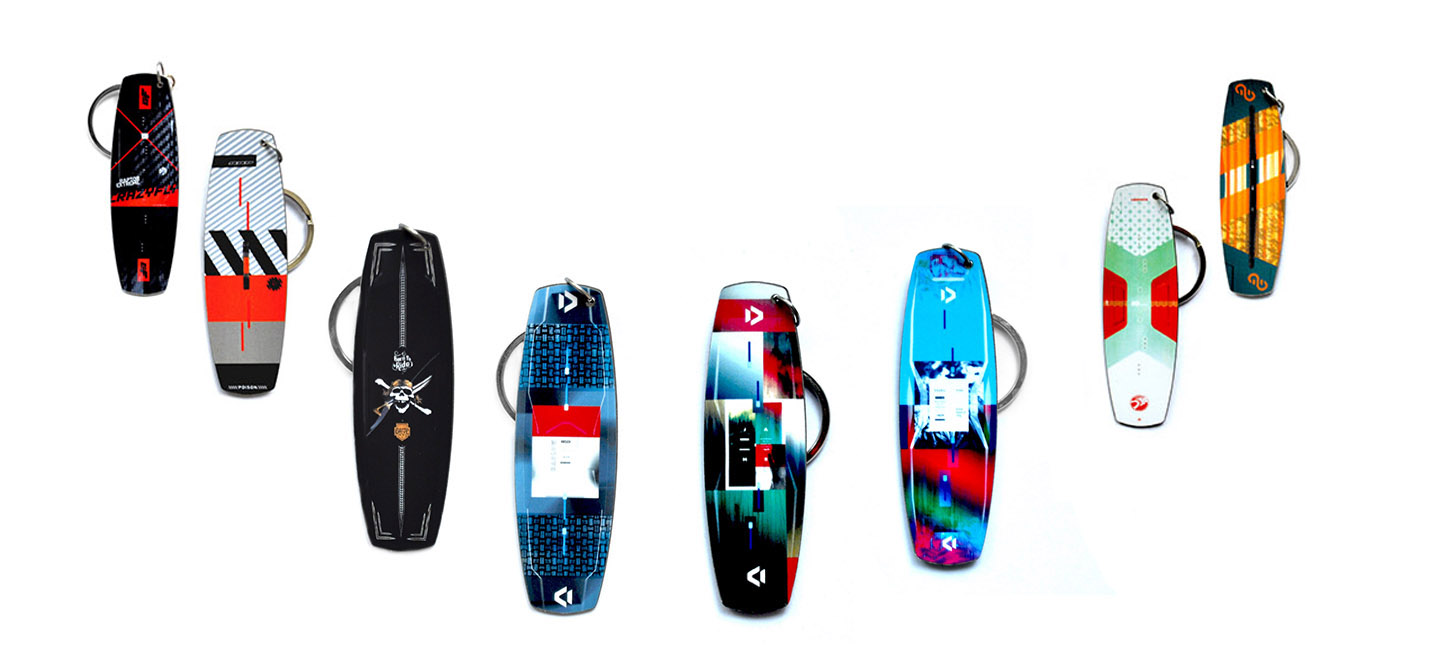 kiteboards keychains 2020